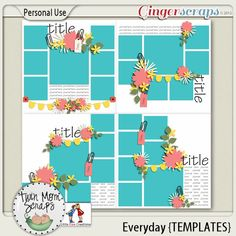 $2 Tuesday by TwinMomScraps! Everyday TEMPLATES; http://store.gingerscraps.net/Everyday-TEMPLATES.html. 10/09/2013