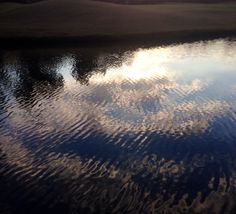 """Rippled reflections"" my morning walks inspire me!"