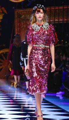 Dolce&Gabbana FW16 runway