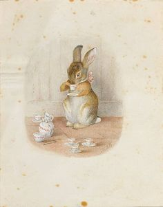 Beatrix Potter unknown bunny