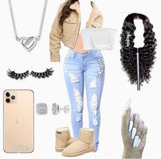 pinner: mixedjawnnn✨ Source by mixedjawnnn ideas for teenagers winter Baddie Outfits For School, Teen Swag Outfits, Outfits Teenager Mädchen, Casual School Outfits, Teenage Outfits, Teen Fashion Outfits, Dope Outfits, Trendy Outfits, Fall Outfits