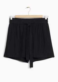 & Other Stories | Tie-Waist Shorts