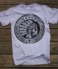 The Tribal Seal - T-shirt. $18.99, via Etsy.
