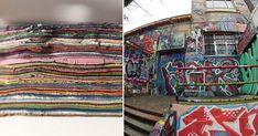 En lo más fffres.co: Arqueología grafitera: Estas láminas llenas de color e historia se corresponden con más de tres décadas de arte urbano…