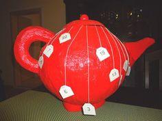 Adventskalender Teekanne