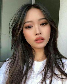 Best Natural Makeup Looks to Make You Beautiful - . - Best Natural Makeup Looks to Make You Beautiful - Asian Makeup Looks, Korean Makeup Look, Asian Eye Makeup, Makeup Monolid, Eyebrow Makeup, Eyeliner, Makeup Inspo, Makeup Inspiration, Makeup Tips