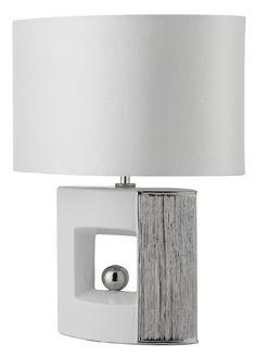 Stolní lampa SEARCHLIGHT SL 4235WH | Uni-Svitidla.cz Moderní pokojová #lampička vhodná jako doplňkové osvětlení domácnosti či kanceláře #modern, #lamp, #table, #light, #lampa, #lampy, #lampičky, #stolní, #stolnílampy, #room, #bathroom, #livingroom