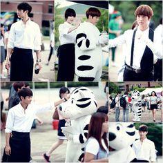 Sulli, Minho, and Lee Hyun Woo transform into baristas on 'To The Beautiful You'
