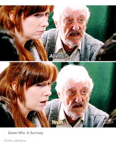 Donna and Wilf. Doctor Who 10, 10th Doctor, Doctor Who Tumblr, Gentlemans Club, Tv Doctors, Best Of Tumblr, Donna Noble, Don't Blink, Torchwood