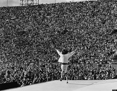 Mick Jagger takes the stage with the Rolling Stones in 1981.