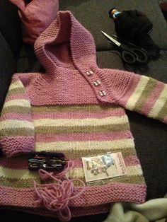 Ravelry: teresekarlsen's Osloanorakk 2 Oslo, Knit Crochet, Knitting, Children, Sweaters, Baby, Fashion, Knits, Hardanger