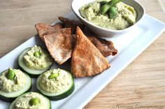 Edamame hummus - Usually pick this up at CostCo - but this recipe looks pretty simple...even for me :o)