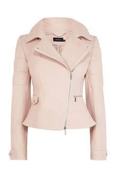 Karen Millen Jackets for Women Karen Millen, Coats For Women, Jackets For Women, Clothes For Women, Pastel Jacket, Pink Jacket, Childrens Coats, Cute Jackets, Biker Jackets