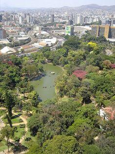Parque Municipal Centro - Belo Horizonte/MG Brasil