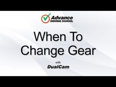 When to change gear in a manual car - YouTube