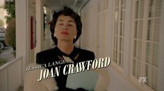 'That was a feud of biblical proportions': FX teases new series Feud Bette and Joan.  Jessica Lange will play Joan Crawford to Susan Sarandon's Bette Davis.
