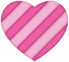 pink hearts clipart - Google Search