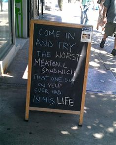 Best Passive-Aggressive Store and Restaurant Signs (click through for more; they're a scream!)