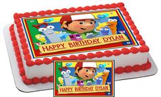 Handy Manny Characters Edible Cake & by CakeTopperSpecialist