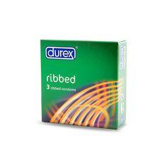 Condoms durex ribbed