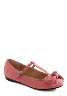 Boutique My Interest Flat in Pink, #ModCloth Pink Bow, I am dying to get these shoes, Modcloth doesn't have my size does somebody know where I can get them?