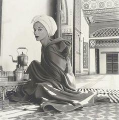 View Woman in Moroccan palace, Lisa Fonssagrives-Penn, Marrakech by Irving Penn on artnet. Browse upcoming and past auction lots by Irving Penn. Celebrity Photography, White Photography, Fashion Photography, Vintage Photography, Photography Office, Timeless Photography, Photography Studios, Photography Portraits, Stunning Photography