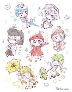 Akatsuki no Yona Yona of the dawn anime and manga || Chibi The Dark Dragon and the Happy Hungry Bunch