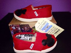 Hey, I found this really awesome Etsy listing at https://www.etsy.com/listing/175843037/toddlers-red-disney-toms