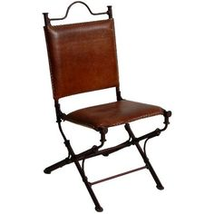 Copper Collection - Pony Leather Chair - CHR-4 #sale #furniture