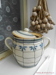 """""""buclak"""" made by potter and tinker from Czech Republic Stylus, Jar, Czech Republic, Kitchen, Home Decor, Cooking, Decoration Home, Style, Room Decor"""