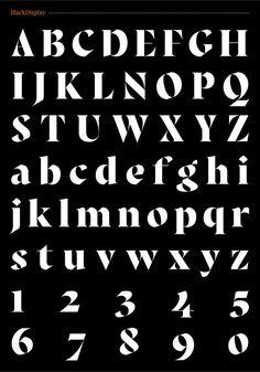 Fermin Guerrero Exentra typeface 2015