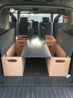 Is that...yup, another sleeping platform. - Honda Element Owners Club Forum