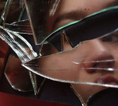 Shattered self by amykins1111, via Flickr