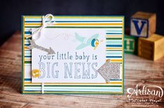 Stampin' Up! Baby: Artisan Wednesday Wow- PL Playground | Creations by Mercedes