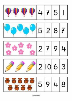 First Grade Math Properties of Operations Mega Practice Printable Preschool Worksheets, Kindergarten Math Worksheets, Math Literacy, Preschool Learning Activities, Preschool Activities, Free Preschool, Numbers Preschool, Learning Numbers, Preschool Body Theme