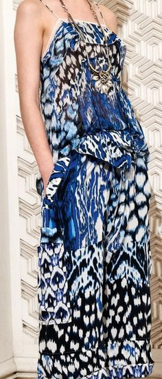 Roberto Cavalli Resort 2014 | The House of Beccaria#