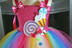 Tutu de Candy Land cumpleaños de Candyland por PrincessFactoryTutus