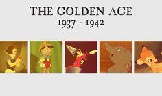 Disney Eras - the Golden Age