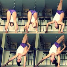 inverted compass/chopasana/standing splits/revolved madness