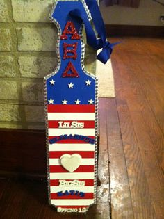 America paddle i made for my big !