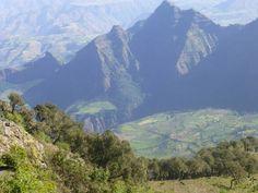 Simien Mountains.