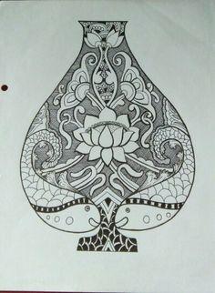 Doodle pot