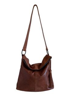Marie Turnor - La Rue Medium Leather Hobo
