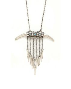 Ethnic Horn Necklace