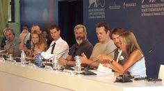 Hacksaw Ridge - Mel Gibson, Andrew Garfield and crew at Venice 2016