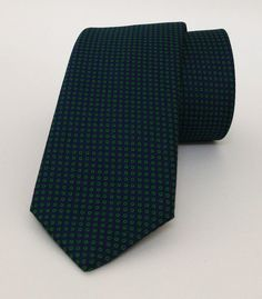 Green and Dark Blue Mens Tie 6 cm (2,36 #handmadeatamazon #nazodesign