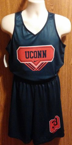 Men's UCONN Huskies Nike Uniform Reverisible Jersey Size Medium NCAA #Nike #UConnHuskies