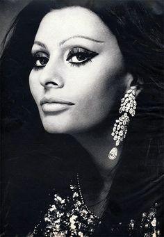 Sophia Loren for Harper's Bazaar, 1970.