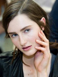 Love the new nude nails? What to use to get soft, matte, mannequin hands. (Helmut Lang F/W '12) http://beautyeditor.ca/2012/08/17/how-to-helmut-lang-fw-12-nails/