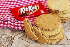 Shortbread wafer sandwiches: A holiday cookie inspired by Kit Kat candy bars